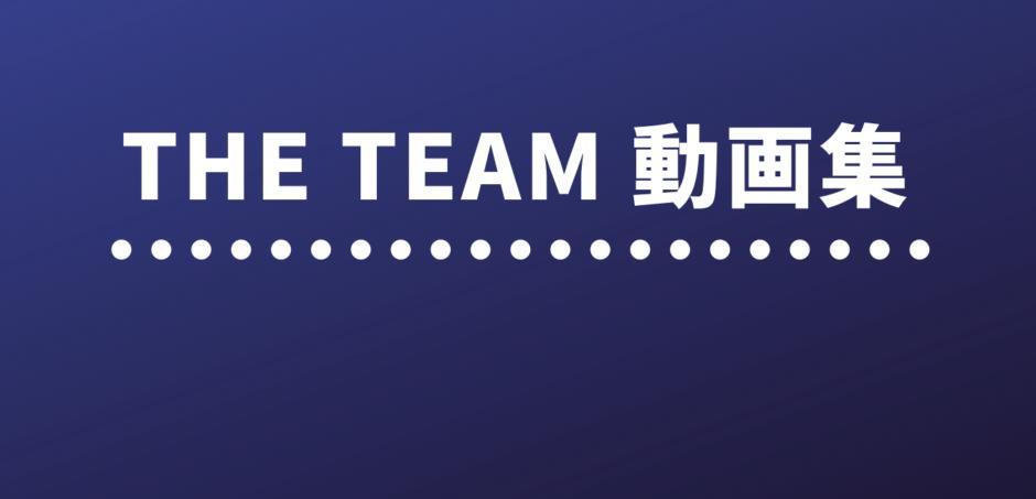 THE TEAM 動画集