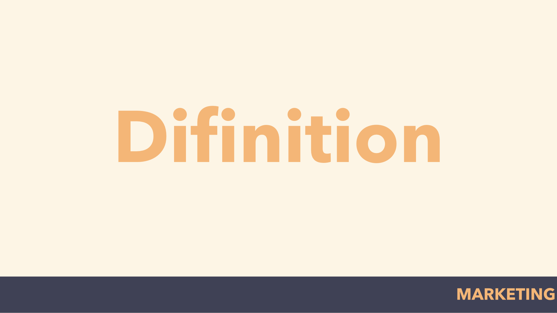 difinition