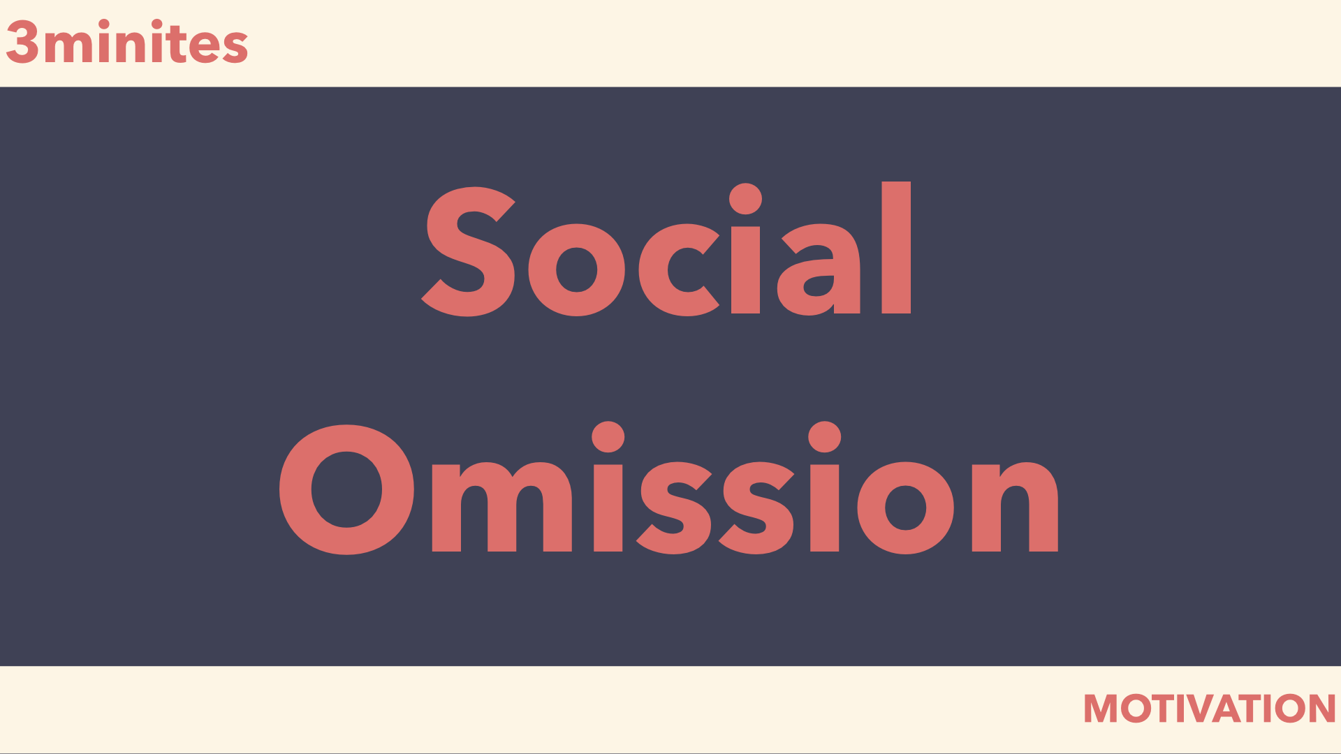 social omission
